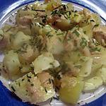 recette Salade de pommes de terre au camembert.. recette de italmo.