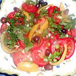 recette Salade de tomates et citrons confits