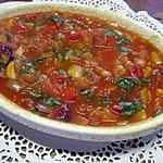 recette Sauce tomates aux poivrons et basilic.