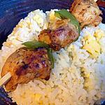 recette Brochettes d'escalopes pour ramadan