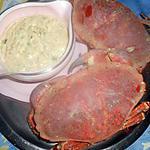 recette Tourteau sauce mayonnaise a l estragon