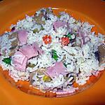 recette Salade de riz express