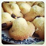 recette Madeleines aux pépites de chocolat et bergamote