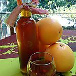 recette VIN DE PAMPLEMOUSSE  au rhum ambré