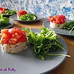 recette Rillettes de thon et tartare de tomate
