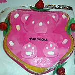 recette gâteau fraise chantilly