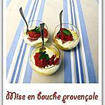 recette Mise en bouche provençale
