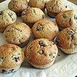 recette Muffins aux mûres