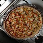 recette Quiche au Saumon et Surimi