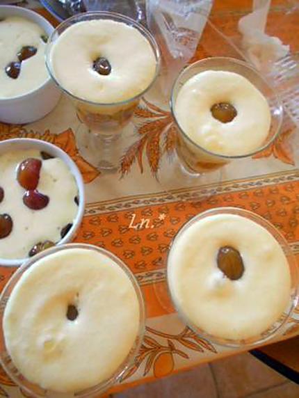 Recette de tiramisu mirabelles et madeleines - Recette avec des mirabelles ...