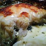 recette Filet de colin a la florentine