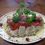 recette Rôti d'aiguillette de  dinde cuit en papillotte.