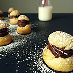 recette Petits CHOUX au CHOCOLAT allégé