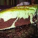 recette Marbré amande-choco