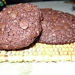 recette Cookies double-choco