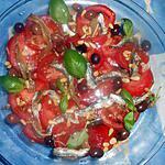 recette Salade de tomates niçoise