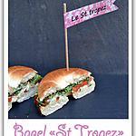 """recette Le bagel """"st tropez"""""""