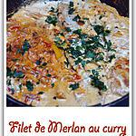 recette Filet de Merlan au curry