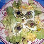 Oeufs farcis aux anchois