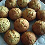 recette Muffins des Iles banane-noix de coco