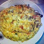 recette omelette à la provençal et au reblochon