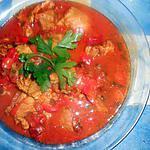 Sauté de veau au paprika