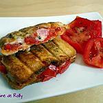 recette Croque tomate morbier