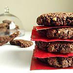 recette BISCUITS énergétiques CHOCOLAT NOISETTE