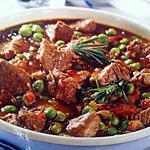 recette Ragoût d'agneau