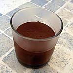 recette Crème dessert au chocolat