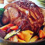 recette Roti de porc potager