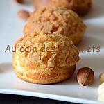 recette Choux au craquelin/Crème pralinée