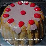 recette charlotte mousse framboise bibasse