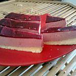 recette mousse de fruit rouge