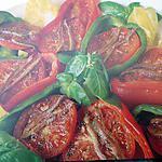 recette Poivrons grillés en salade