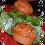 recette Muffins salés aux lardons coeur ail&fines herbes