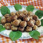 recette Boulettes de chou-fleurs frits.