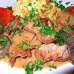 recette Sauté de veau sauce champignons et porto