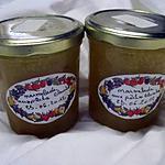 recette Marmelade de pêches blanches nature.