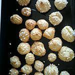 recette chouquette au grain de sucre