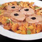 recette Médaillons de veau au Banyuls et girolles