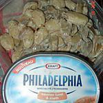 recette Gnocchis au fromage, philadelphia et champignons
