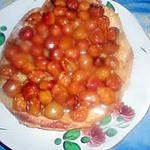 recette Tarte tiède aux mirabelles sans moule