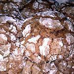 recette ~Biscuits craquelés au chocolat~