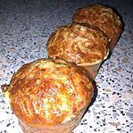 ~Muffins aux lardons et coeur ail&fines herbes (recette de ephemer62)~