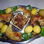 recette Fricassée de poulet au vin d'Amboise