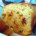 recette cake au vin blanc et au chorizo (spécial pique-nique)