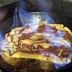 recette Bananes au nutella flambé