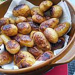 recette Pommes de terre rates confites au miel et romarin
