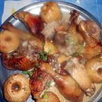 recette Canard aux pommes reinettes et à la creme
